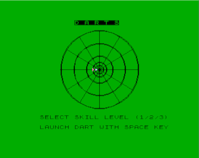 Darts Basic Videogame
