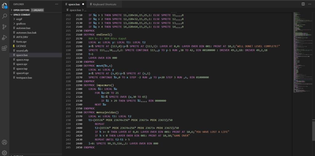 Visual Studio Core NextBasic 2