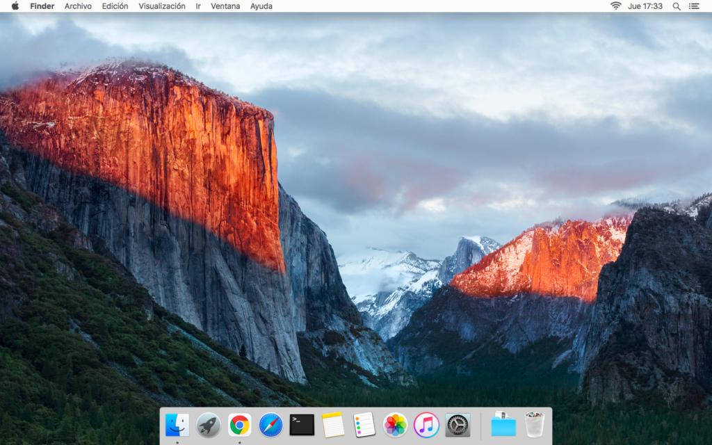 El Capitan instalado en Macbook