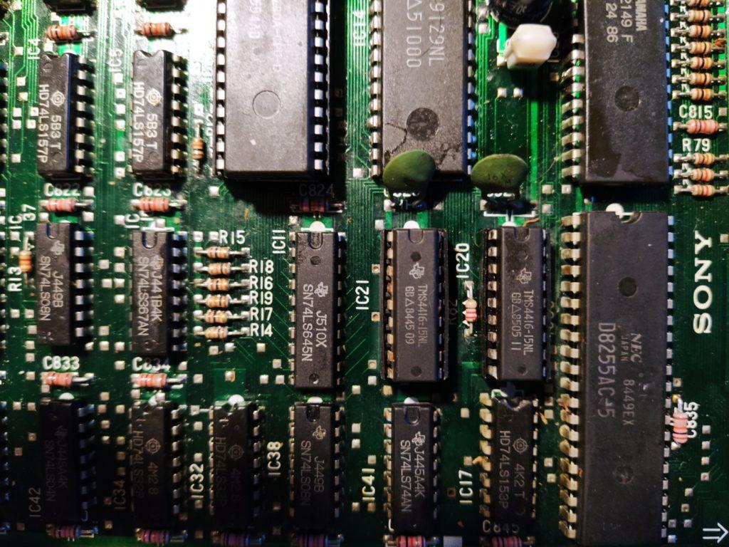 Memorias MSX SONY HB-101P