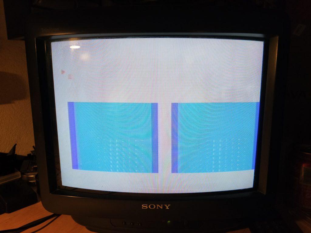 MSX SONY HB-101P Error de pantalla