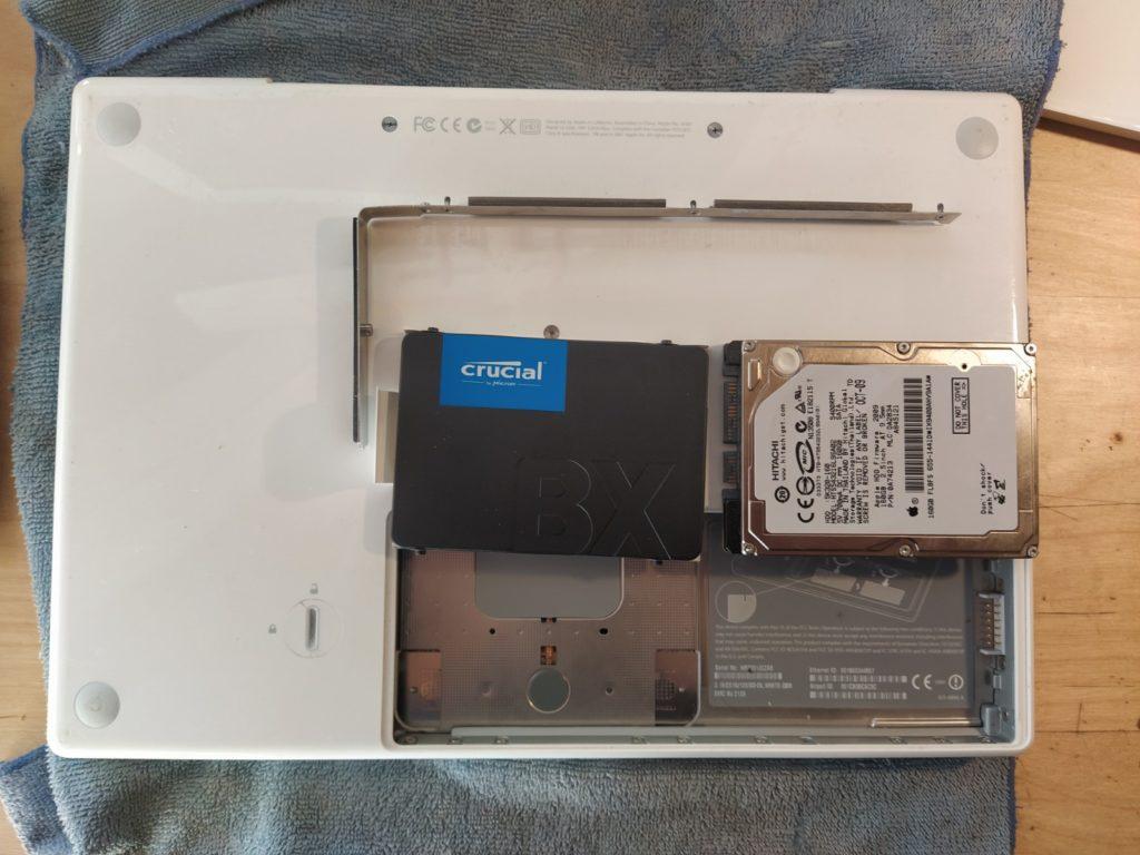Cambio Disco Duro MacBook