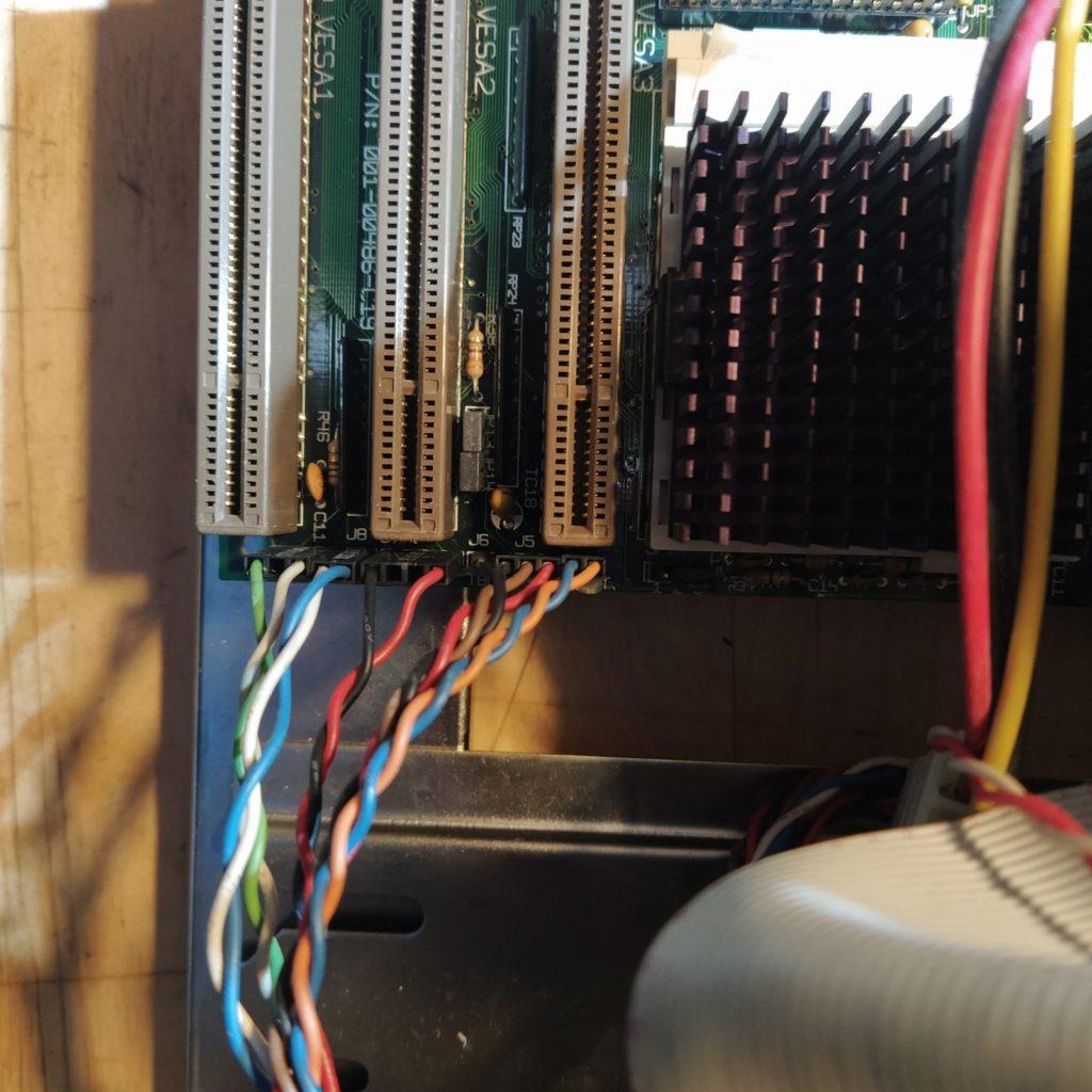 Cables Chasis a la Placa Base