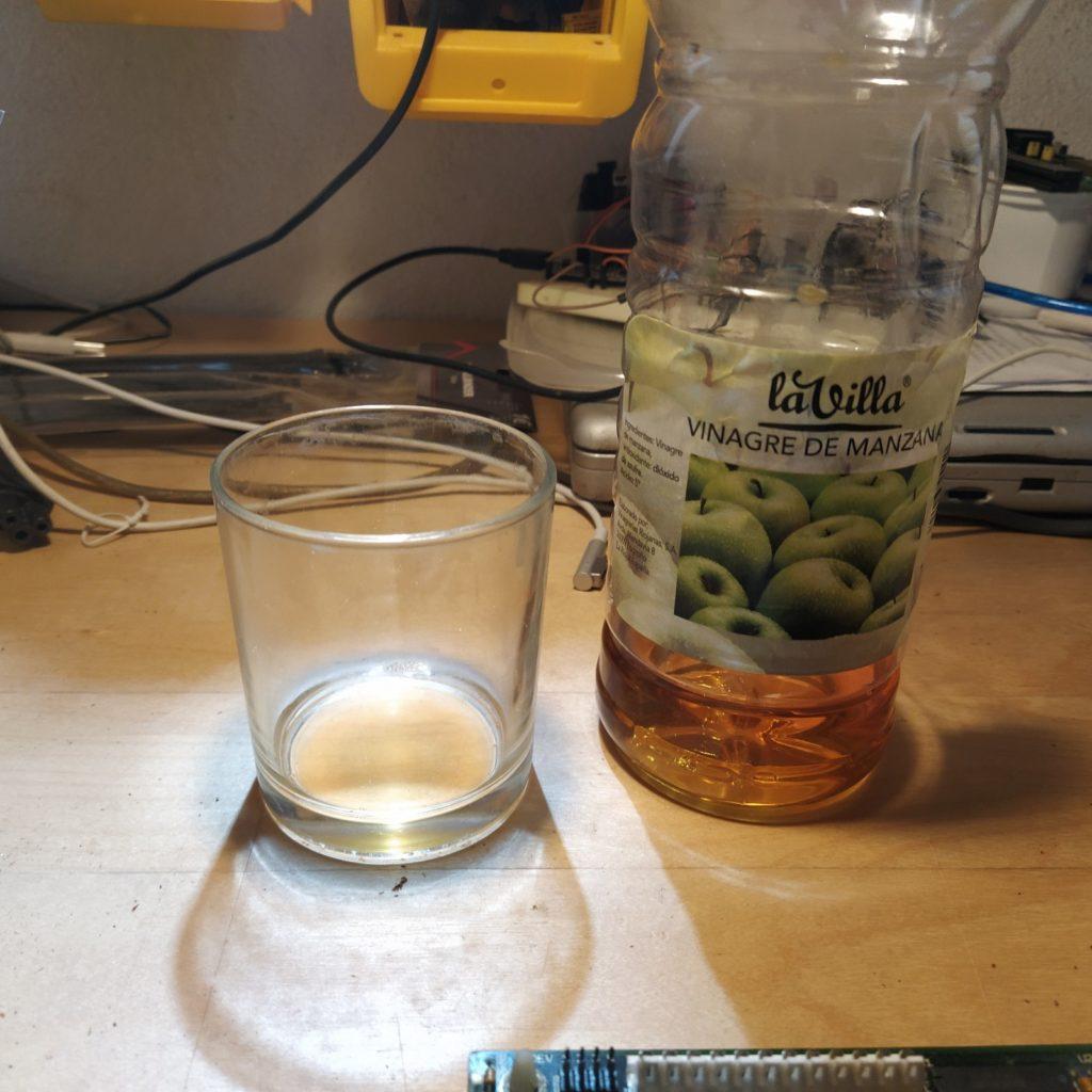 Vinagre de Manzana para el óxido