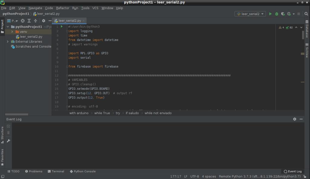 PyCharm en Debian 10