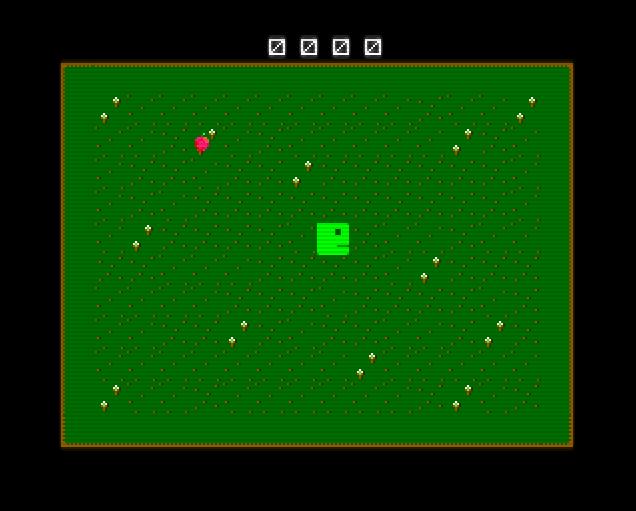 Snake in Basic Game