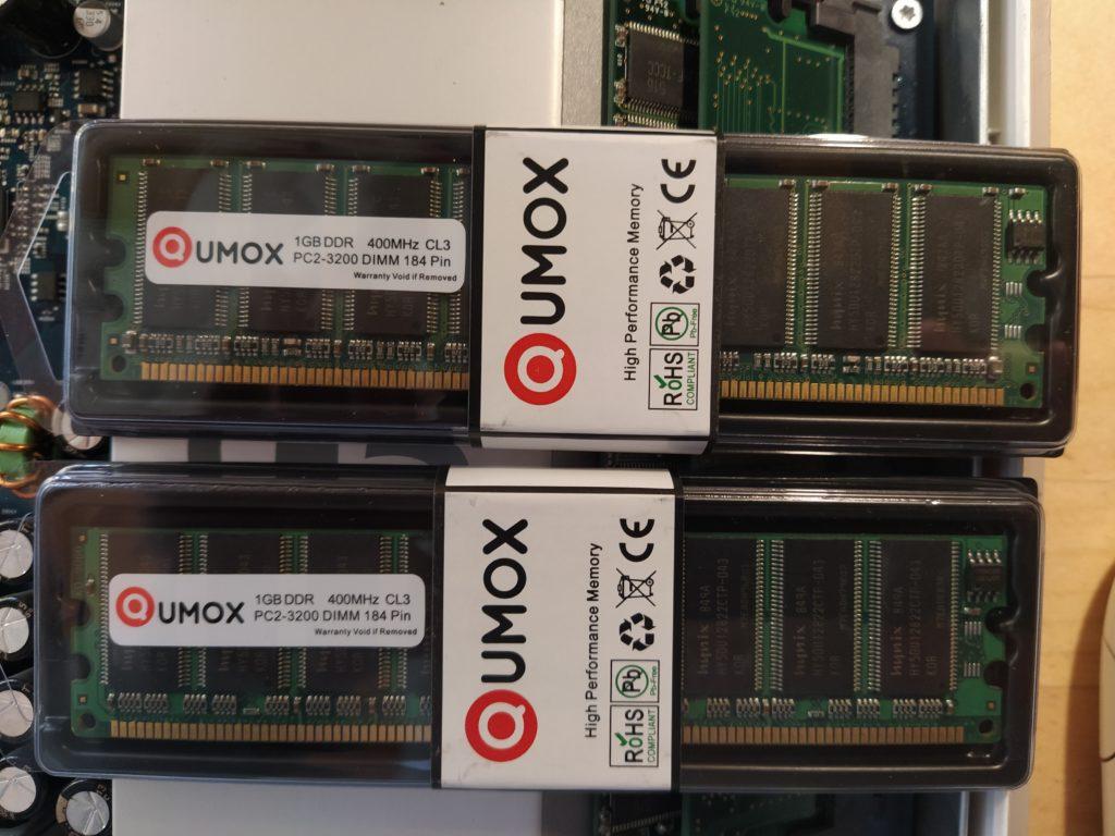 iMac G5 tipos de memoria
